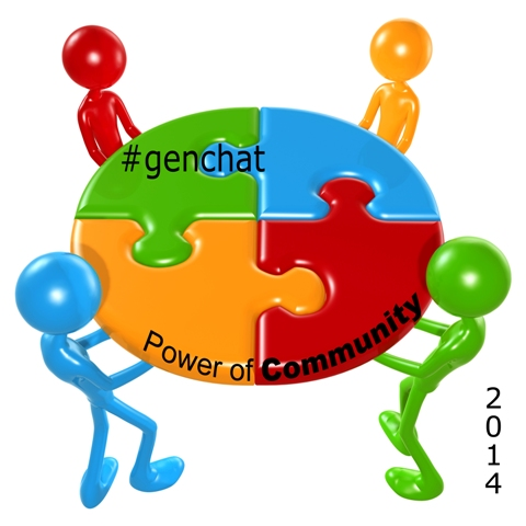 #genchat badge